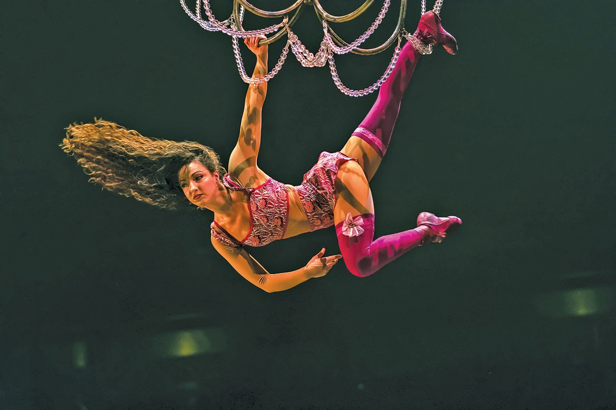 Cirque du Soleil comes to the Q this week for six shows. See: Thursday.