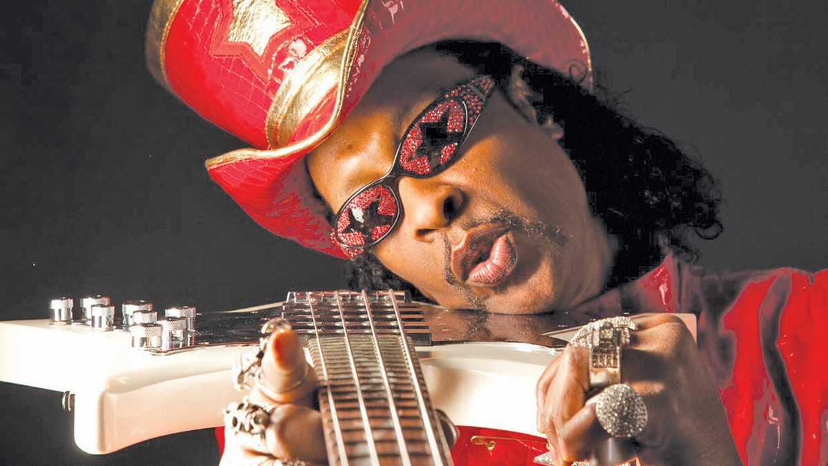 Bootsy Collins will appear at the Rock Hall Library & Archives. See: Thursday.