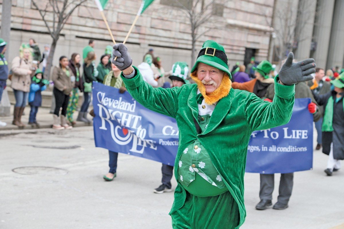 The annual St. Patrick's Day parade will bring thousands of people to downtown. See: Sunday.