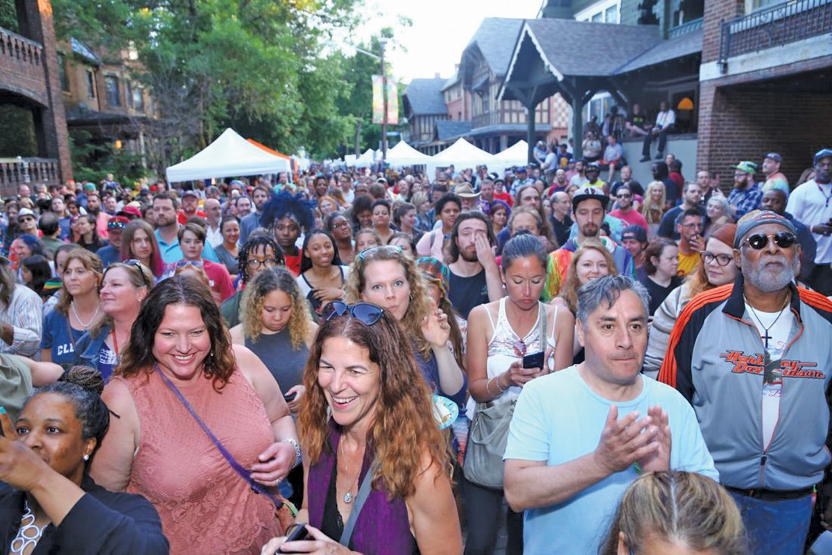 Hessler Street Fair celebrates its 50th anniversary. See: Saturday.