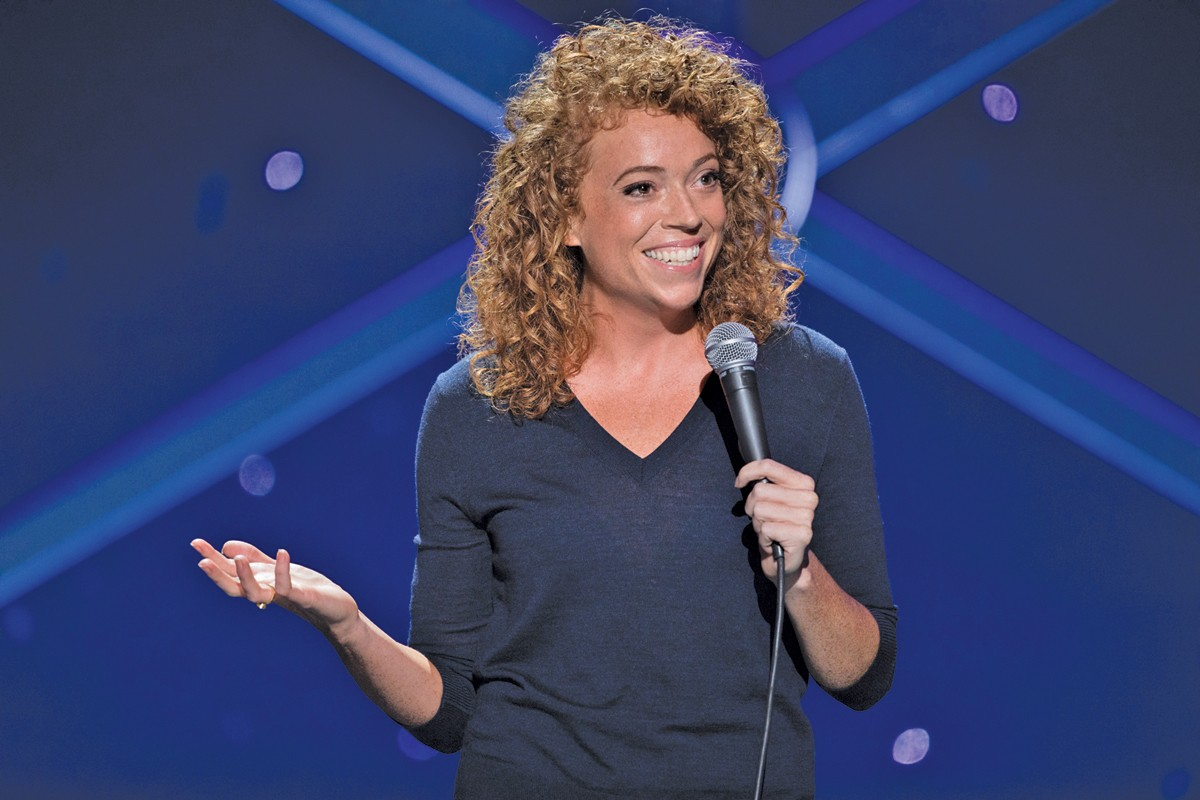 Comedian Michelle Wolf comes to Hilarities. See: Thursday.