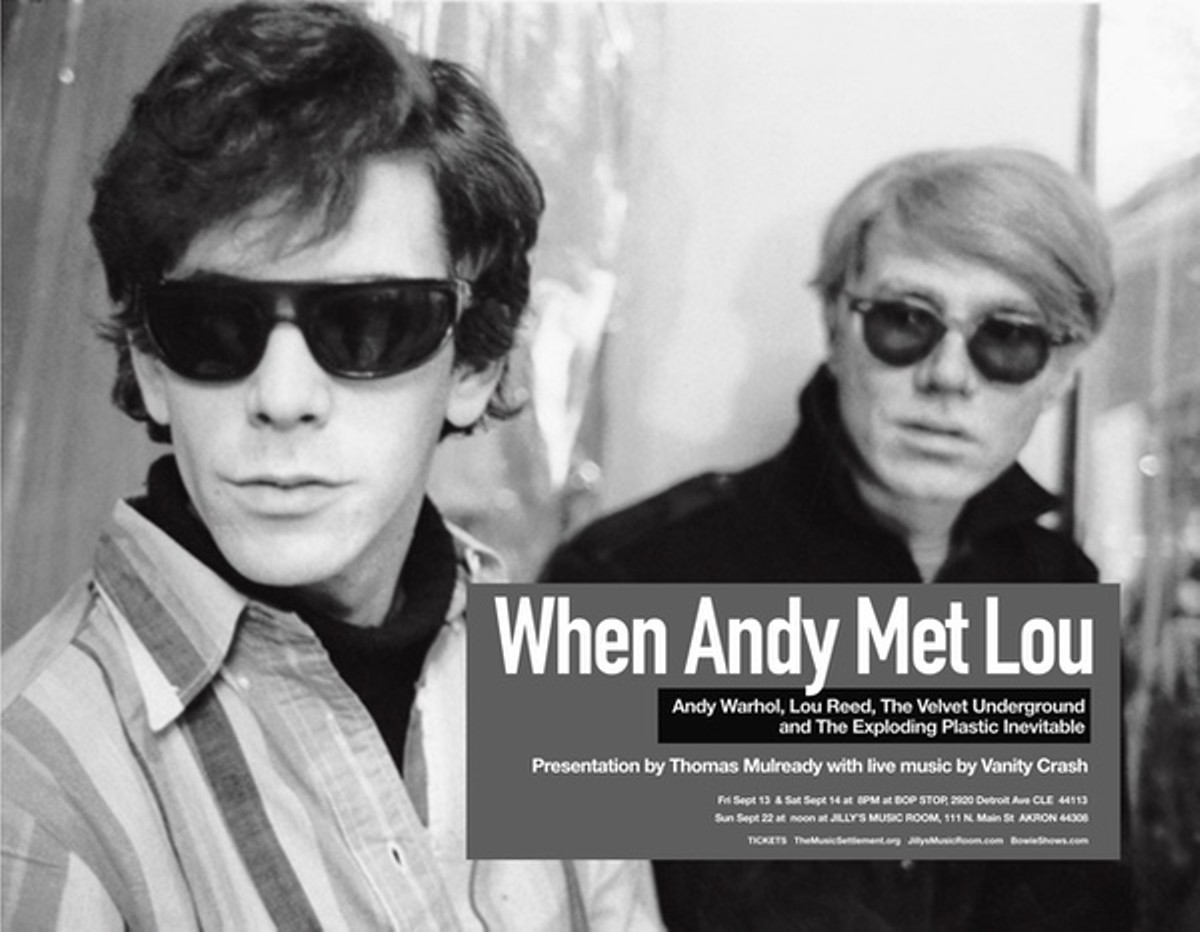 When Andy Met Lou: Andy Warhol, Lou Reed, The Velvet