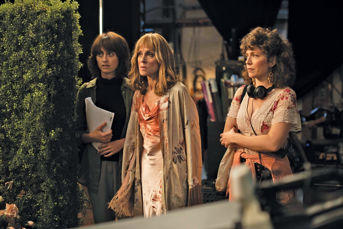 From left, Hannah Pearl Utt, Judith Light and Jen Tullock