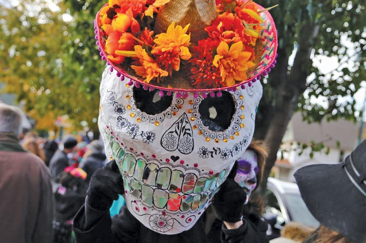 Día de Muertos returns to Gordon Square. See: Saturday.