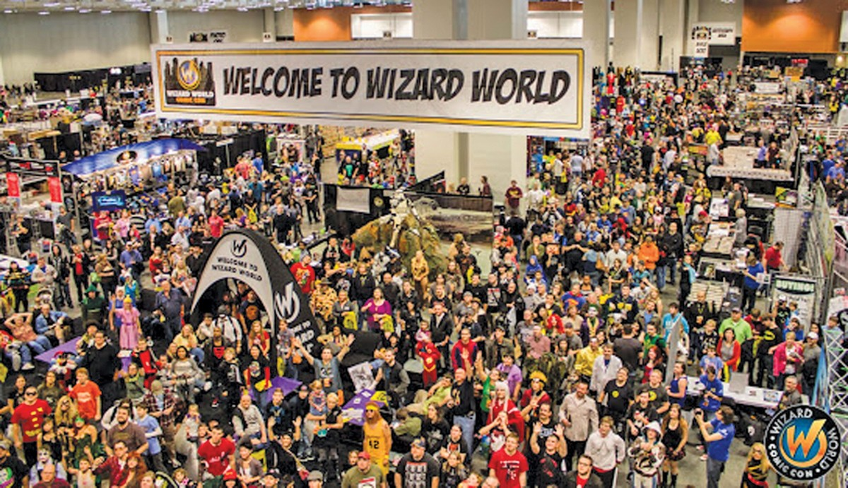 Wizard World returns to the Huntington Convention Center of Cleveland. See: Friday.