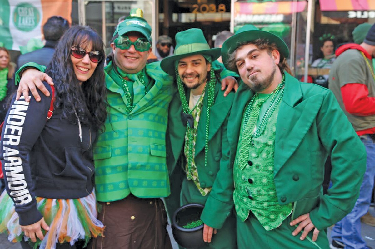 Thousands of people will converge on downtown for the annual St. Patrick's Day parade. See: Tuesday.