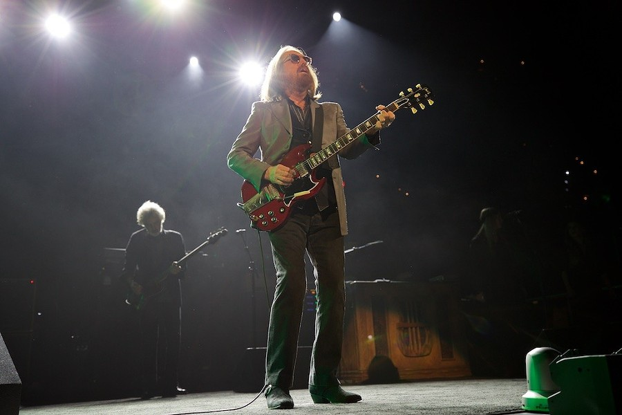 Tom Petty performing at the Q earlier this year. - SCOTT SANDBERG