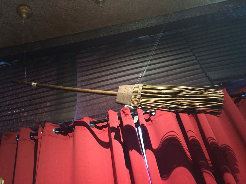 The broom of Gerald Gardner, Raymond Buckland's mentor. - LAURA MORRISON