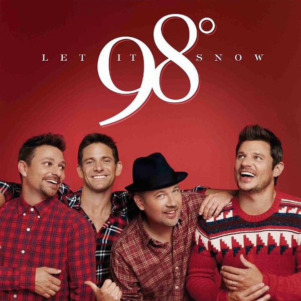 AFTER: 98 Degrees' 2017 Christmas album cover.