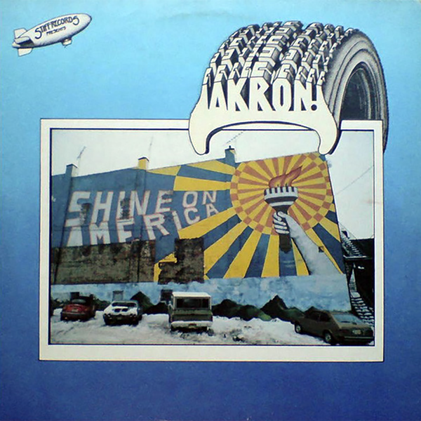 "Shined On: The cover photo was shot during ""the great blizzard of 1978,"" by a visiting photographer hired by Stiff. The mural is in Cuyahoga Falls."