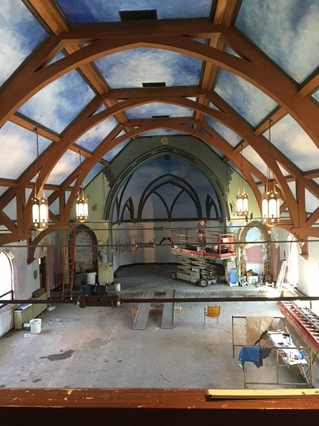 Birdtown Brewery takes shape in an old church - PHOTO BY DOUGLAS TRATTNER