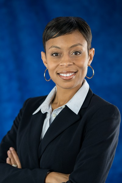 Shontel Brown - COURTESY CLEVELAND PLANNING COMMISSION