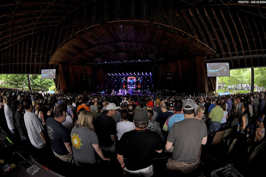 Dead and Company performing at Blossom earlier this year. - JOE KLEON