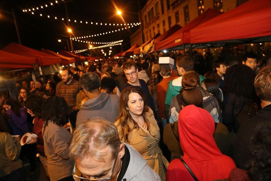 Asiatown's Night Market - SCENE ARCHIVES