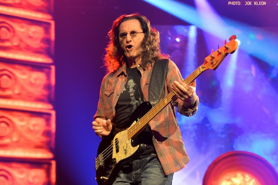 Rush performing at Nationwide Arena in Columbus in 2015. - JOE KLEON