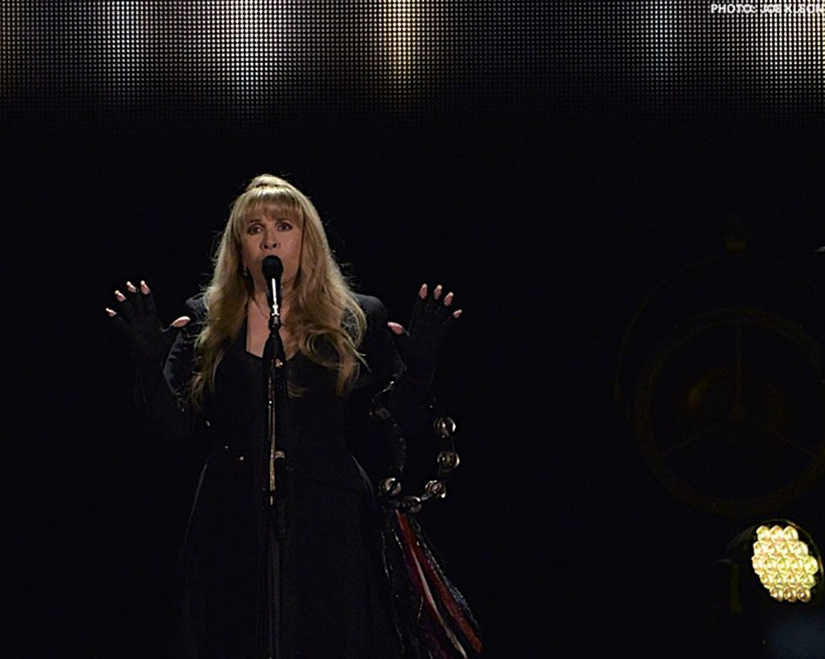 Harry Styles is introducing Stevie Nicks at this year's Rock Hall Induction ceremony. - PHOTO BY JOE KLEON