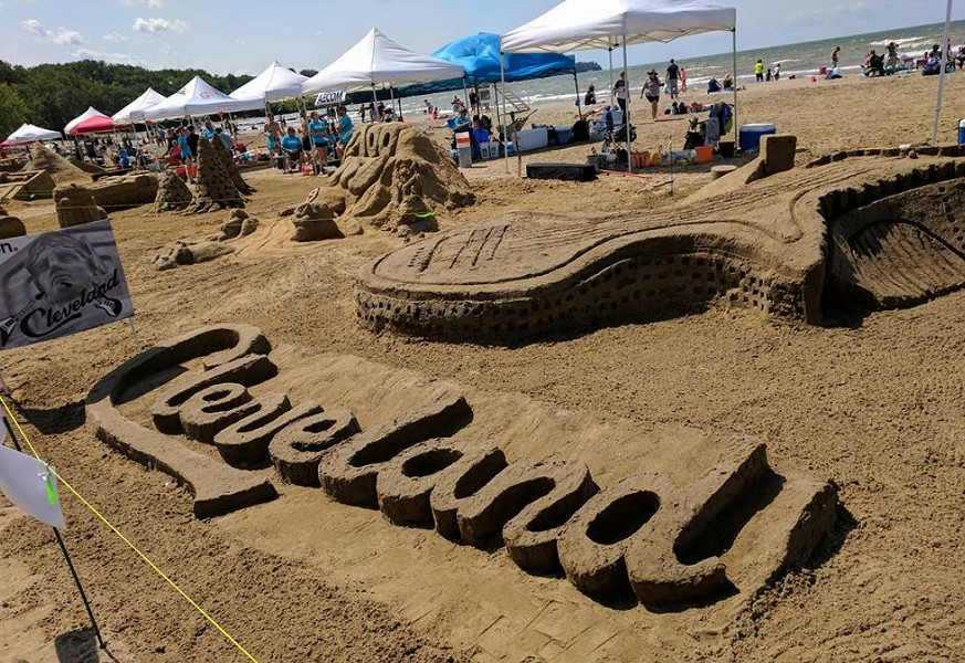AIA CLEVELAND SAND FESTIVAL/TWITTER