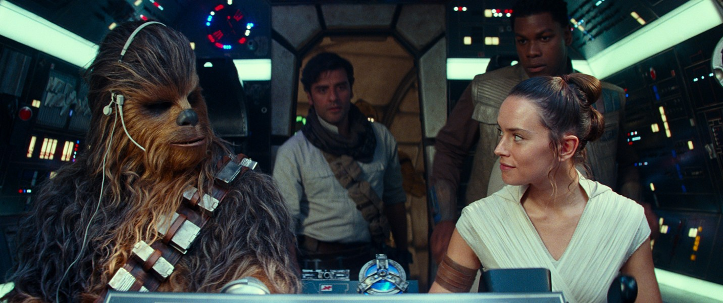 The gang's all back together in Star Wars Episode IX: The Rise of Skywalker - DISNEY/LUCASFILM