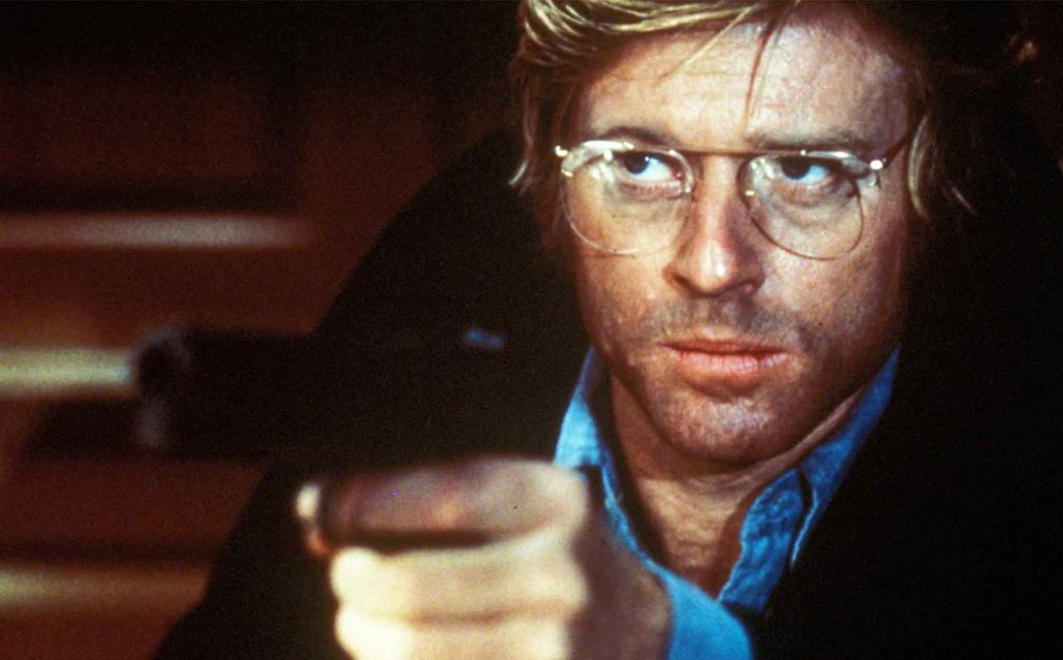 Robert Redford in Three Days of the Condor (1975). - PARAMOUNT PICTURES