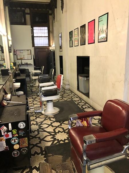 Rockefeller Barber Shop - COURTESY OF NICK HILF