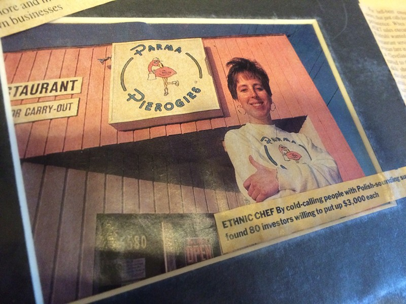 Parma Pierogies received local and national press attention throughout the 90s. - ERIC SANDY / SCENE