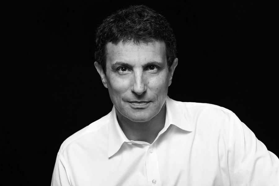 David Remnick, Editor of the New Yorker - BRIGITTE LACOMBE