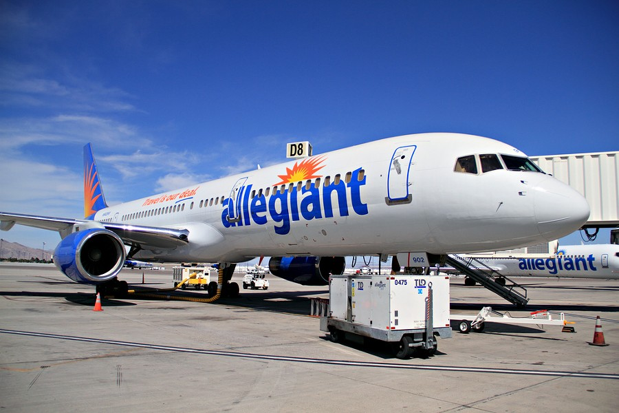 PHOTO COURTESY OF ALLEGIANT AIR
