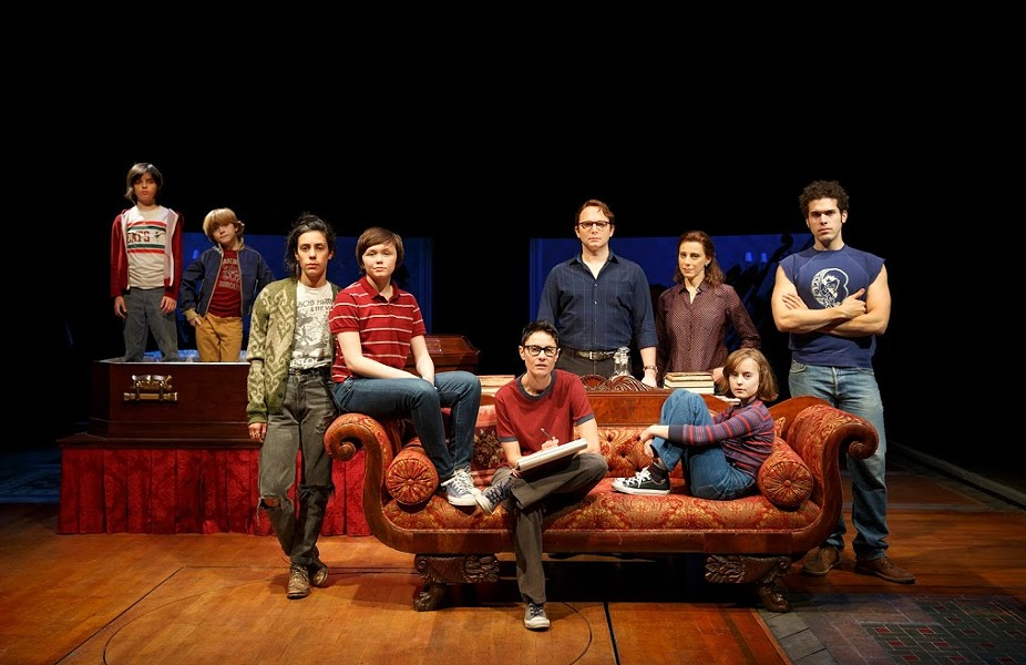JOAN MARCUS, CAST OF FUN HOME