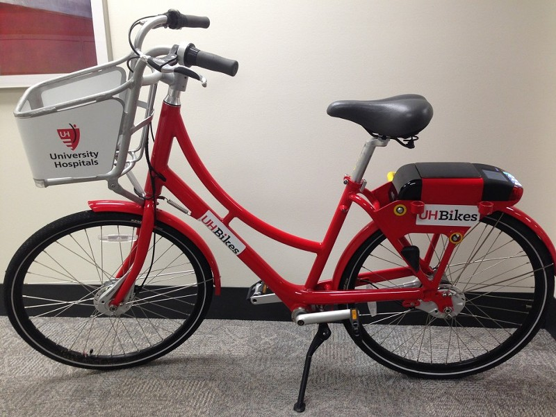 More than 100 of these puppies coming to a neighborhood near you. - BIKE CLEVELAND