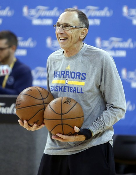 Golden State Assistant Coach Ron Adams