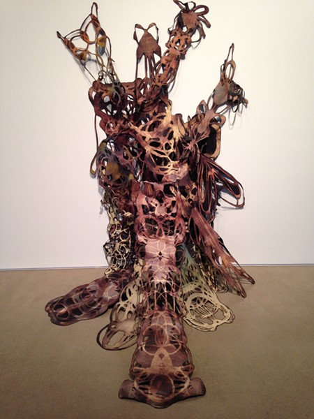 Christi Birchfield's work at MOCA Cleveland as part of How to Remain Human in 2015