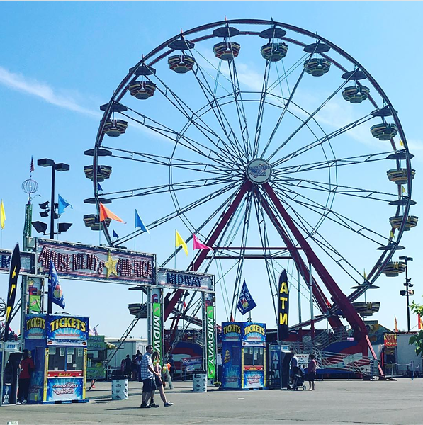 The Ohio State Fair - PHOTO VIA READINGANDLEARNING/INSTAGRAM