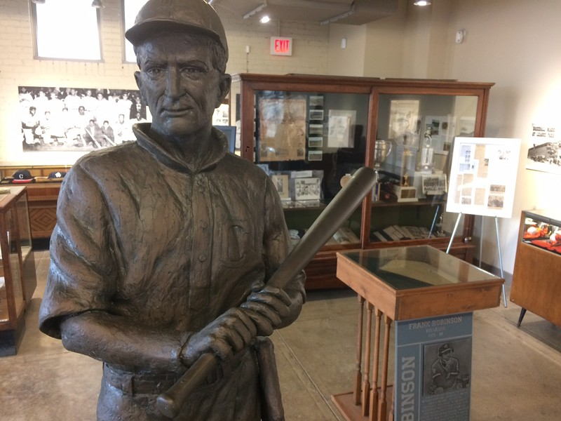 Elmer Flick, in the Baseball Heritage Museum at League Park. - ERIC SANDY / SCENE