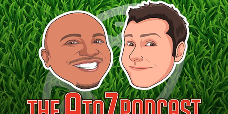 Talkin' A Little (A Lot Of) Football — The A to Z Podcast With Andre Knott and Zac Jackson