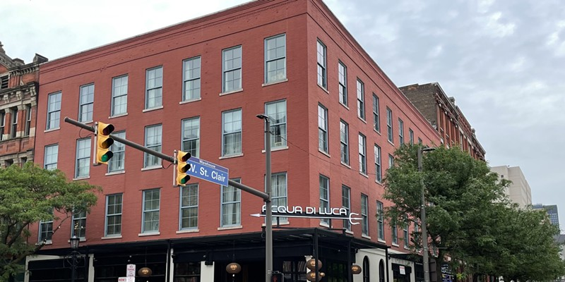 Acqua di Luca in the Warehouse District is expected to open in mid-June.