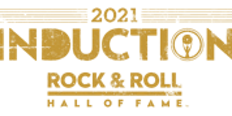 Logo for 2021 Rock Hall Inductions.