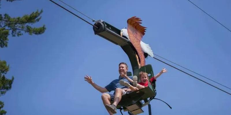 Eagle Zip Adventure is now open