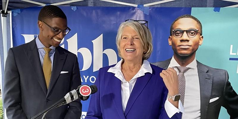 Former Cleveland Mayor Jane Campbell endorses Justin Bibb, (9/23/21).