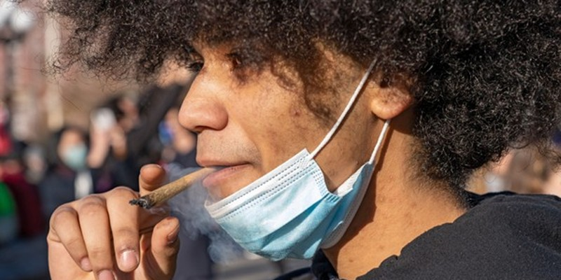 A study found 7.8% of vaccinated people with cannabis use disorder came down with COVID-19, the highest rate in the study.