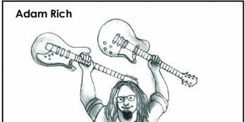 Cover art for Adam Rich's latest effort.