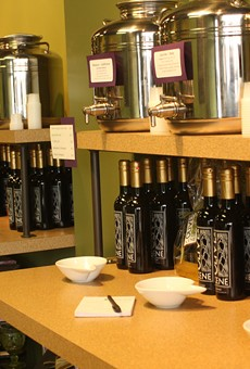 Tasting Palate-Pleasing Olive Oil at Olive Scene's Olive Oil Emporium