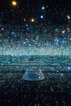 """""""Infinity Mirrored Room––The Souls of Millions of Light Years Away,"""" 2013."""