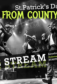 Boys From the County Hell to Livestream Their Annual St. Patrick's Day Concert