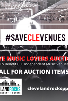 SaveCLEVenues Auction Seeks Donations for Upcoming Fundraiser