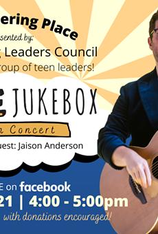 Jesse Jukebox To Perform Free Gathering Place Concert on Sunday