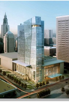 """Cuyahoga County, in """"Worst Case Scenario,"""" Bails Out Downtown Hilton Once Again with $15 Million"""