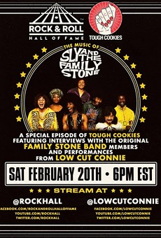Rock Hall To Stream Special Series Featuring Members of Sly & the Family Stone