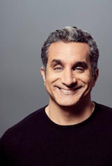 Egyptian comedian Bassem Youssef.