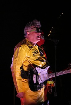 Devo performing in 2012 at the Mountain Winery