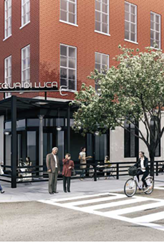 Artist's rendering of Acqua di Luca, opening soon in downtown Cleveland.